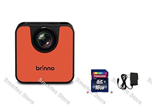 Brinno WiFi HDR Time Lapse Camera TLC120 + 16GB SD Card + Wall Power Supply. Small and Pocketable! Experience the simplest time lapse camera, explore any project you want to record. Capturing and sharing time lapse videos has never been easier. Instant Time Lapse, Instant Sharing, Instant Fun.Quick, easy setup, turn on Brinno TLC120 and download the Brinno Camera APP to get started. Turn your mobile devices into a remote control! Super Easy to frame your subject remotely.IPX4 Splashproof…