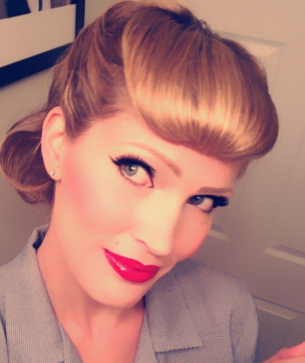 Pin up hair makeup style and all around rockabilly lifestyle
