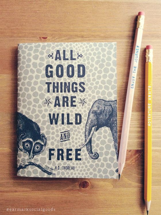 Wild and Free pocket notebook. Perfect!!