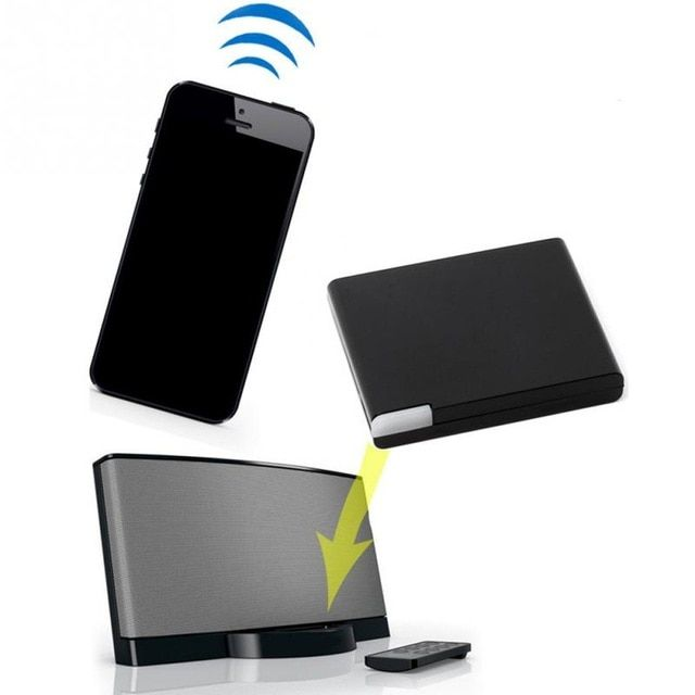NEW Bluetooth A2DP Music Receiver Audio Adapter for iPod iPhone 30Pin Dock