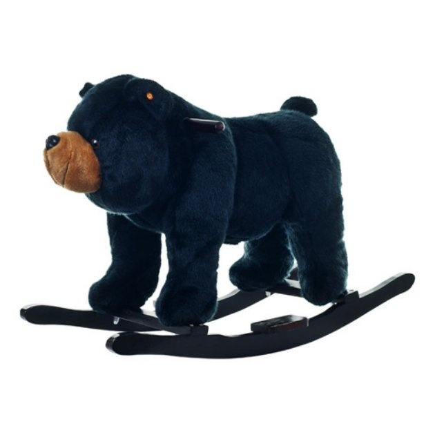 Rocking bear! Still super cute but wouldn't get as dirty as a white panda. :)