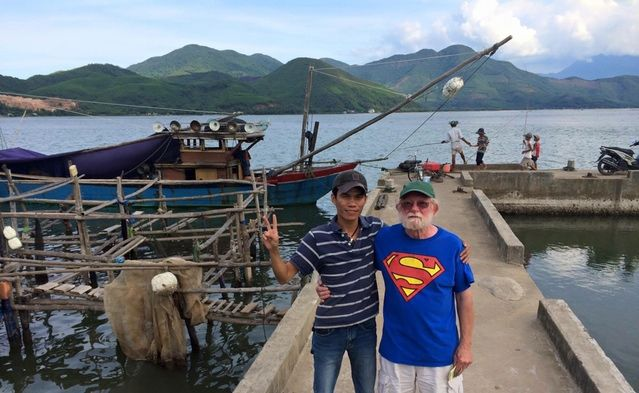 Vietnamese Guide and backer Nate McFadden's father giving us hope.  http://kck.st/1mWRS3h