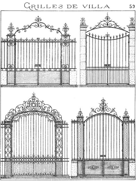 37 Best Portail Images On Pinterest Gate Ideas, Fences And Gates