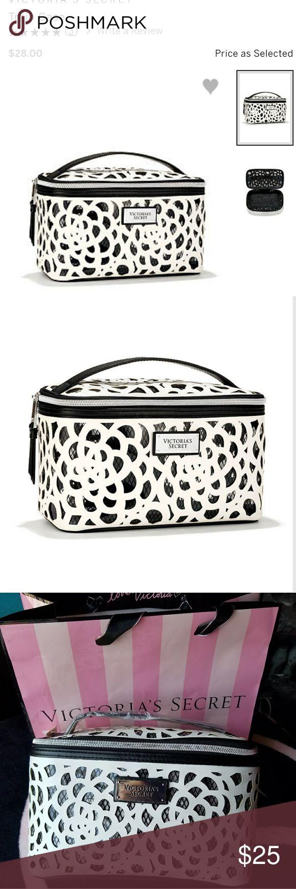 Victoria Secret Train Case New Victoria Secret Bags Cosmetic Bags & Cases