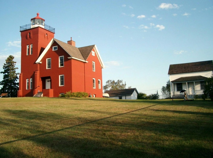 Two Harbors Lighthouse and Bed and Breakfast spent the
