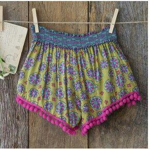 Gypsy Hippie Shorts Fringe https://facebook.com/hillbillyheavenco
