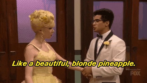 Like a beautiful, blonde !  I love Frenchy & Doody!