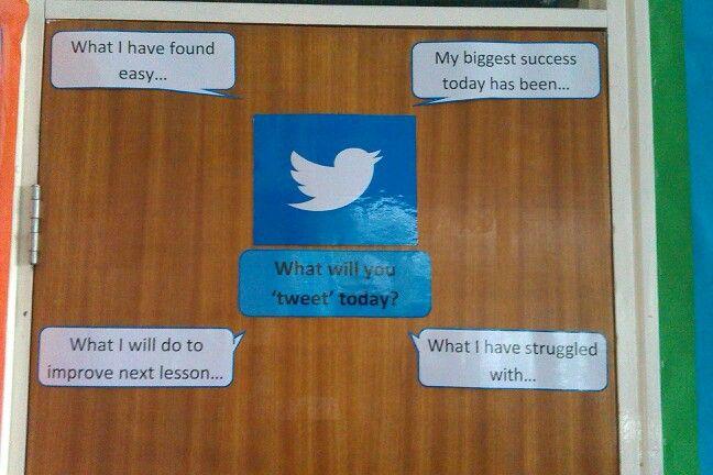 Twitter board