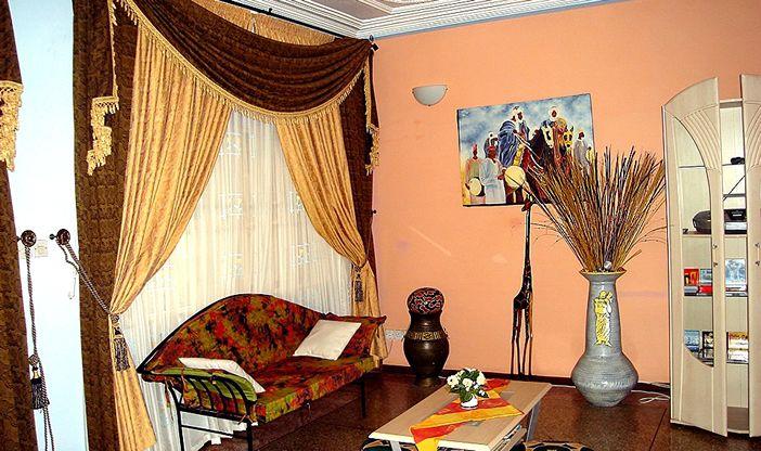 Decoration ideas for living room - Stinus Interio Black Living Living Room Decoration Ghana Red White