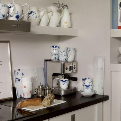 Wow... a kitchen full of Royal Copenhagen.