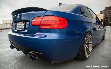 BMW E92 335i with Forgestar F14 SDC Gunmetal wheels Car Feature on MPPSOCIETY: The revolutionized aftermarket automotive parts web-platform for auto enthusiasts searching on our platform to gain inspiration from a plethora of high quality car builds -- and directly view exactly what modifications have been performed.