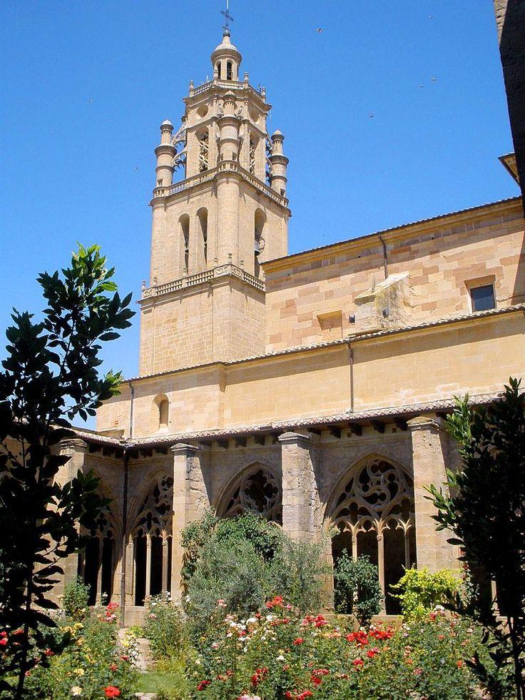 Iglesia de Santa María de los Arcos. Navarra.