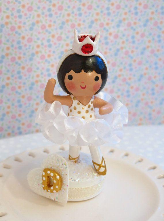 AvailableWhite  Tutu  Ballerina Cake by sweetiepiecaketopper
