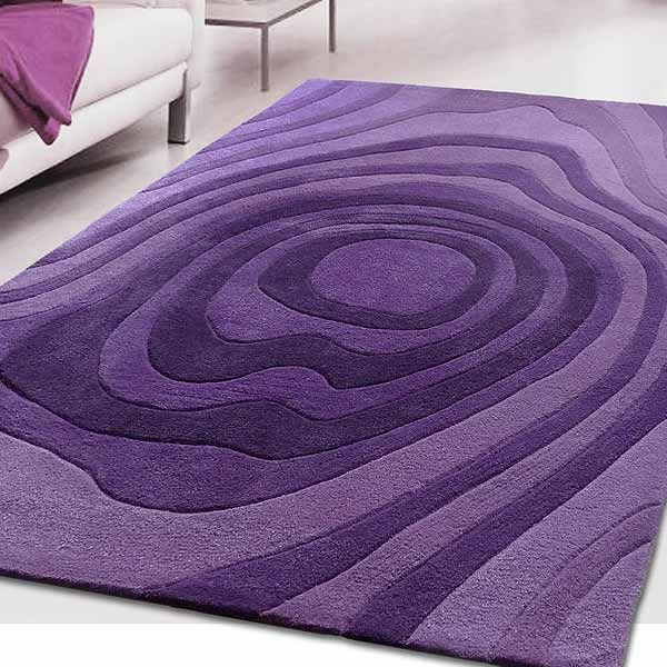 Signature Karma Rug, Purple.