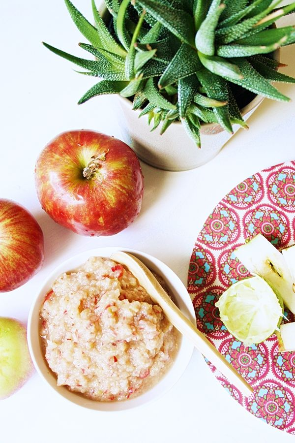 Mitt Gröna Kök: Raw Äppelmos