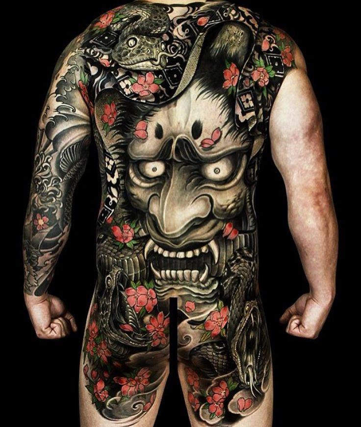 Az irezumi tetoválás eredményei