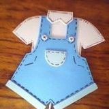 Pañales de foami como souvenirs de Baby Shower   Manualidades para Baby Shower