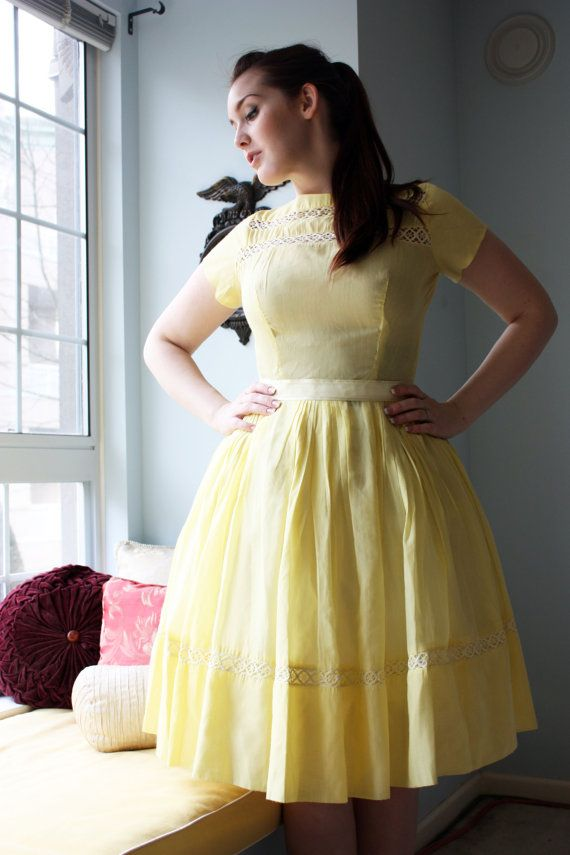 i dont like to wear colors, but i love this.: Summer Dress, Plus Size, Curvy Girls, Size Fashion, Dresses, Vintage Dress, Vintage Style