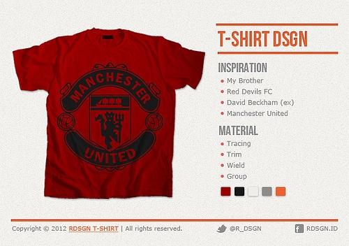 Desain Kaos Manchester United