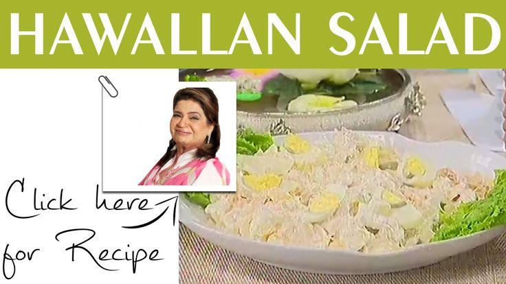 Masala Mornings Hawaiian salad Recipe by Shireen Anwar Masala TV 18 June 2015