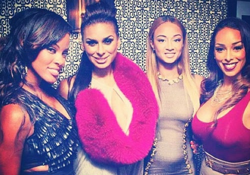 """Basketball Wives: LA"" co-stars Malaysia Pargo, Laura Govan, Draya Michele and Gloria Govan promote season 2 of their hit VH1 reality series."