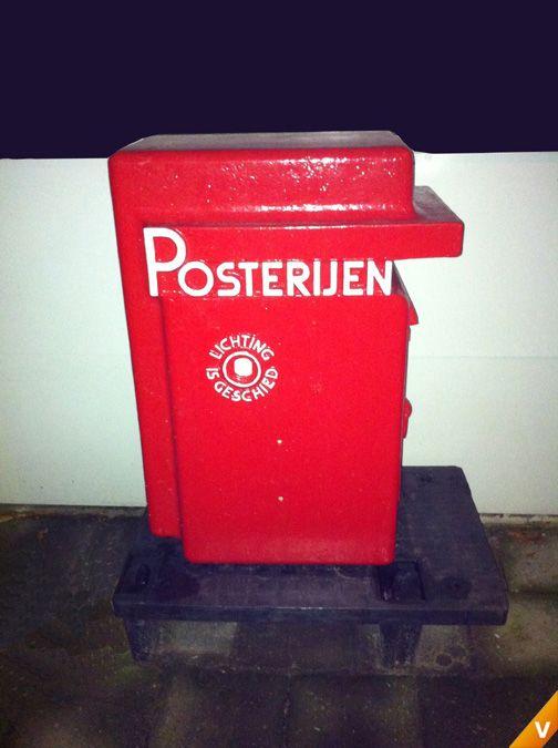 Holland postbox Amsterdamse school 1930
