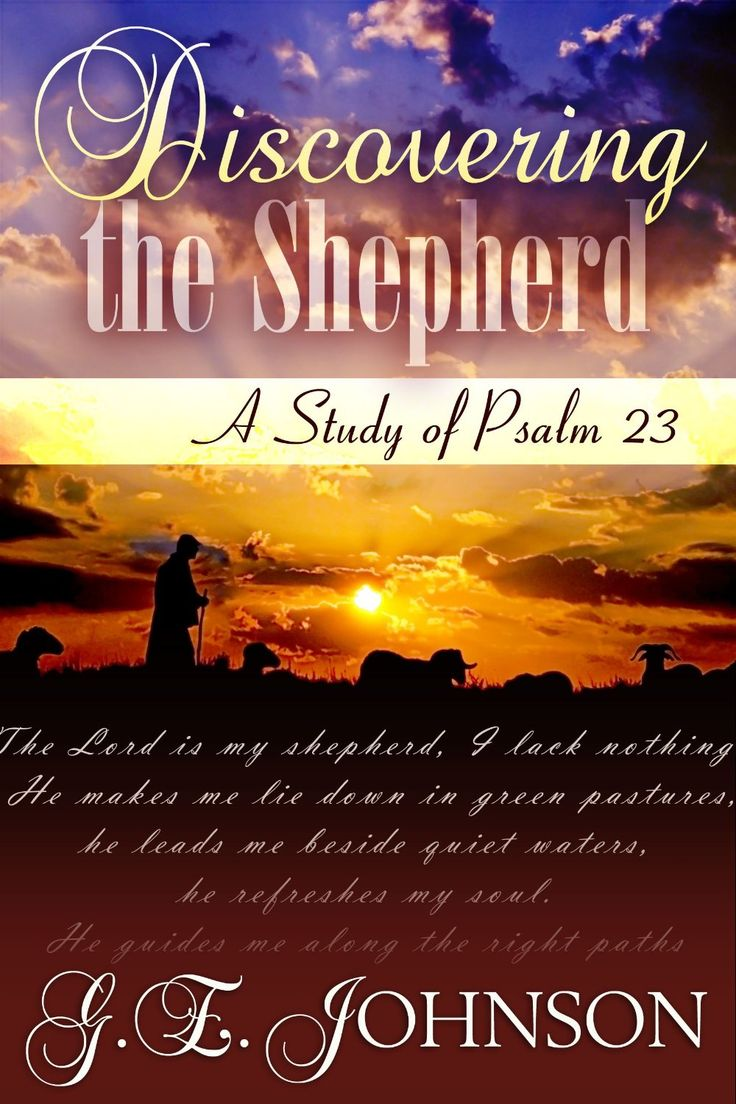 "DISCOVER THE SHEPHERD TODAY WITH AN AUTHOGRAPHED PAPERBACK! You'll receive a personally signed copy of ""Discovering The Shepherd: A Study of Psalm 23,"" an inspirational bookmark so you never lose your place while reading, and access to G.E. Johnson's weekly newsletter..."