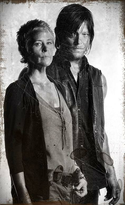 Carol & Daryl from the Walking Dead - For more TWD & Zombies visit us https://www.facebook.com/ZombieCPC
