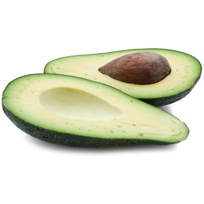 Avocado: good source of fiber, and eaten in moderation helps curb appetite