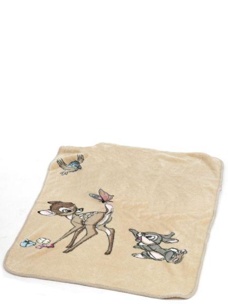 Unelmanpehmeä Bambi ja Rumpali -fleecepeitto on kätevä vaunuissa, sängyssä, matkoilla, leikkialustana… Materiaali: 100 % polyesteriä. Koko: 70 x 100 cm. Konepesu 30 asteessa.