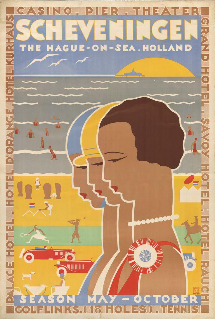 Scheveningen, The Hague on the Sea, Holland Casino - Pier - Theatre http://digital.lapl.org/ItemDetails.aspx?id=6382