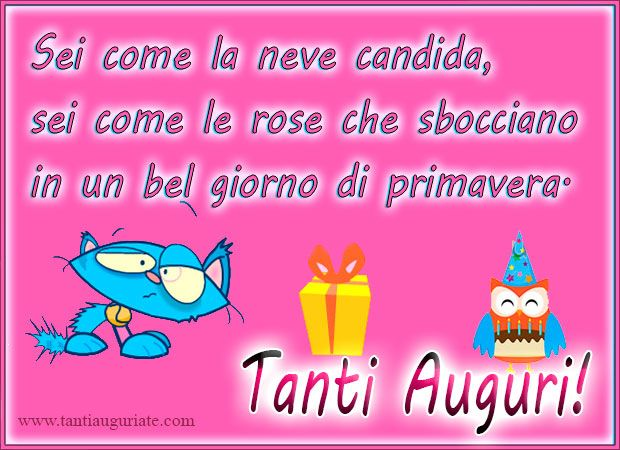 Favoloso 81 best Buon Compleanno images on Pinterest | Happy b day, Happy  IA43