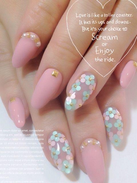 cherylのspring nail19♪ の画像|恵比寿・代官山ネイルスクール&サロン cheryl blog by chiaki♡