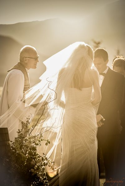 Summer wedding at the Crested Butte Country Club. Photo by Alison White Photography