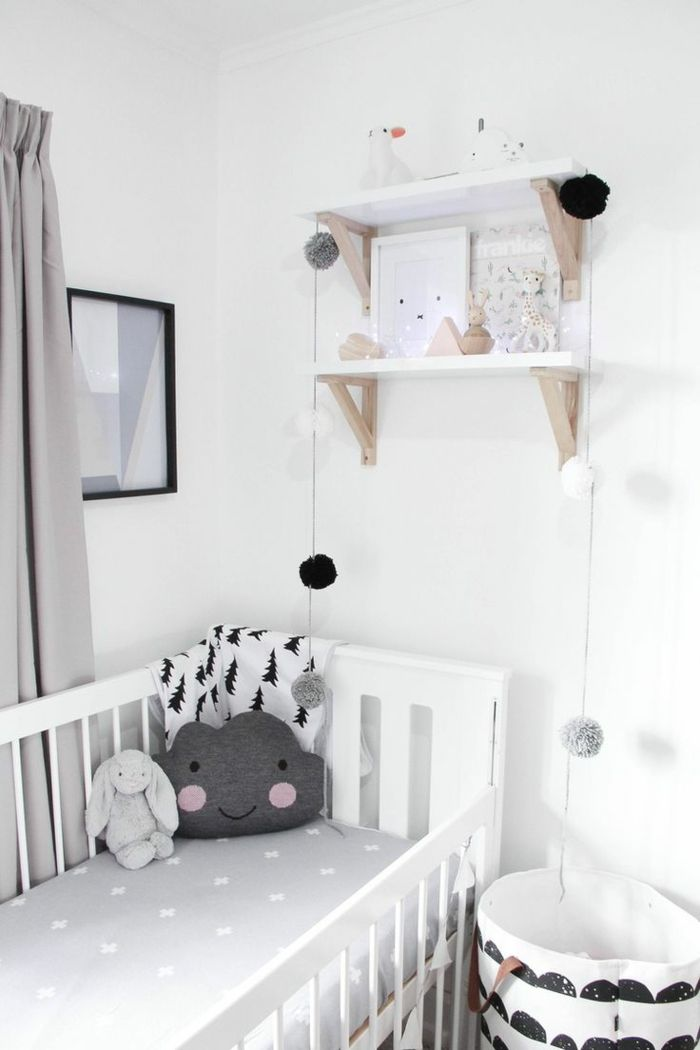 best 20 beistellbett wei ideas on pinterest kleiner baby raum klein m dchen stil and. Black Bedroom Furniture Sets. Home Design Ideas