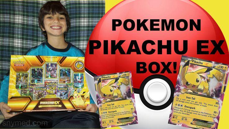 #VIDEO: #Pokemon #Pikachu EX Legendary Collection Box! NICE PULL!  WATCH: https://youtu.be/GJnqq8vcJ8M