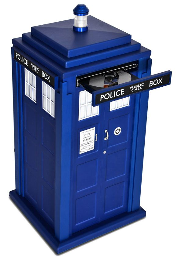 Scan Computers launches the Tardis PC System – Merchandise Guide - The Doctor Who Site
