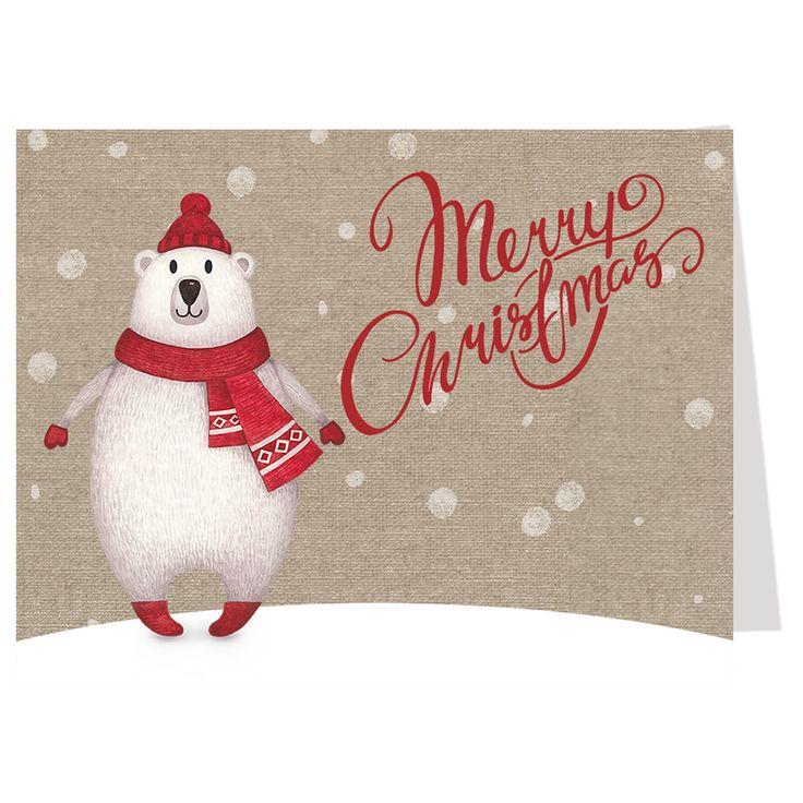 The polar express movie christmas cards