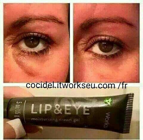 Le LIP & EYES fera des merveilles pour toutes les petites rides et ridules autour de vos yeux et du contour de vos lèvres