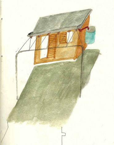 studio albori / casetta sul tetto / milano / 2013