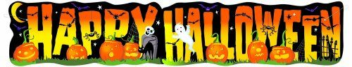 45ft Jointed Happy Halloween Banner ** Want to know more, click on the image.  This link participates in Amazon Service LLC Associates Program, a program designed to let participant earn advertising fees by advertising and linking to Amazon.com.