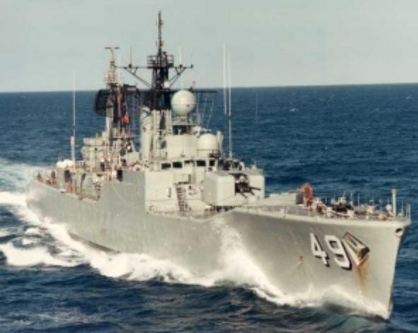 HMAS Derwent DE 49