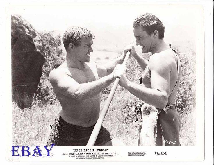 Robert vaughn barechested wrestles man VINTAGE Photo Teenage Caveman | eBay