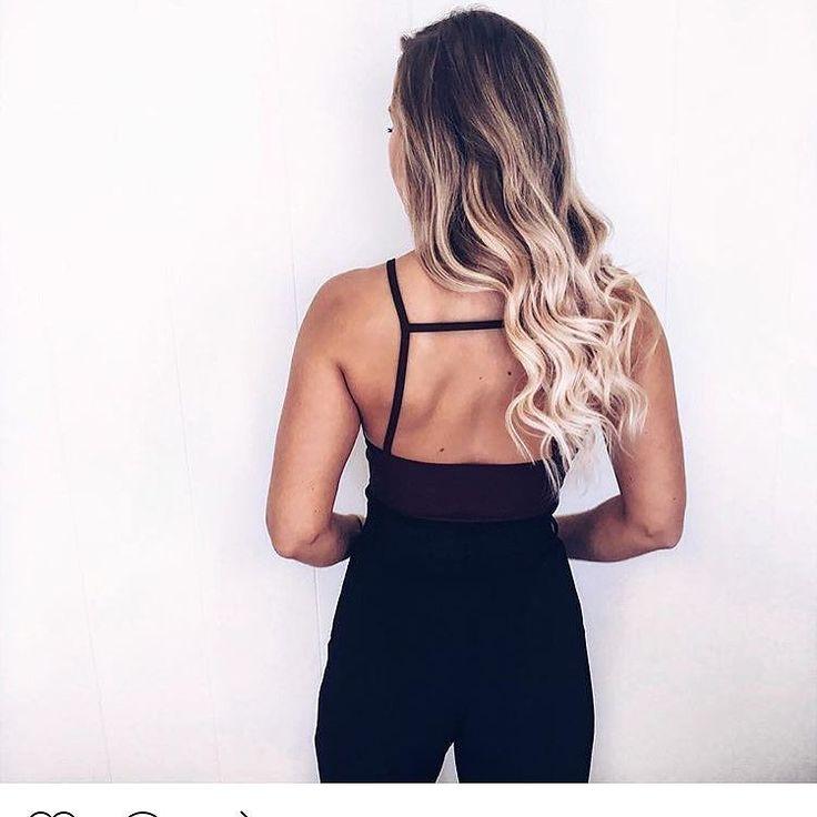 Hairinspo   credit @lenaegelaand #hair #beauty #qualityhair #beautyful #blonde #ombrehair #langthår #hår #lånt