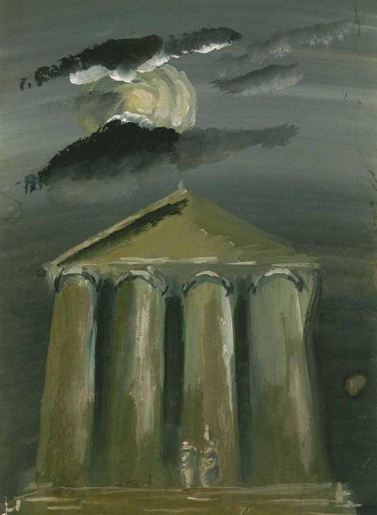 """http://evitebsk.com/w/images/9/9b/Ermolaeva_1934.jpg Иллюстрация к поэме Лукреция Кара """"О природе вещей"""". 1934."""