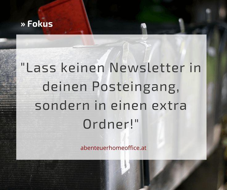 Ordnung ist der halbe Fokus :-) http://abenteuerhomeoffice.at/2016/10/autoresponder-blogmomentum/