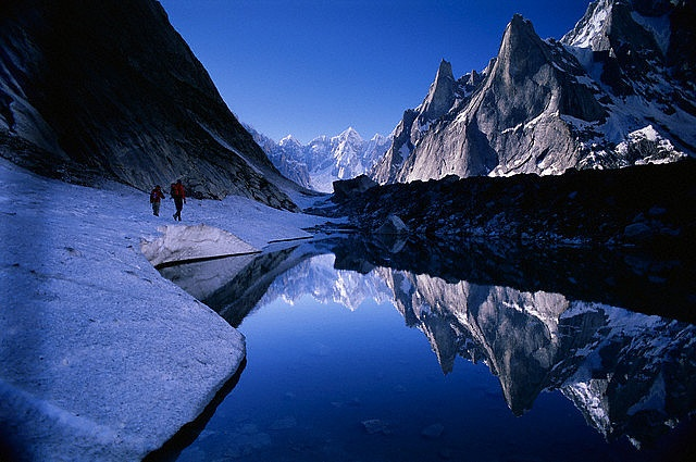 Karakoram Range in Pakistan - photo by toufeeque, via Flickr