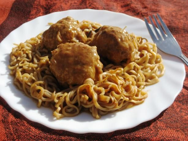 Hungarian Meatball Stew from Food.com: A stew that is a modified ...