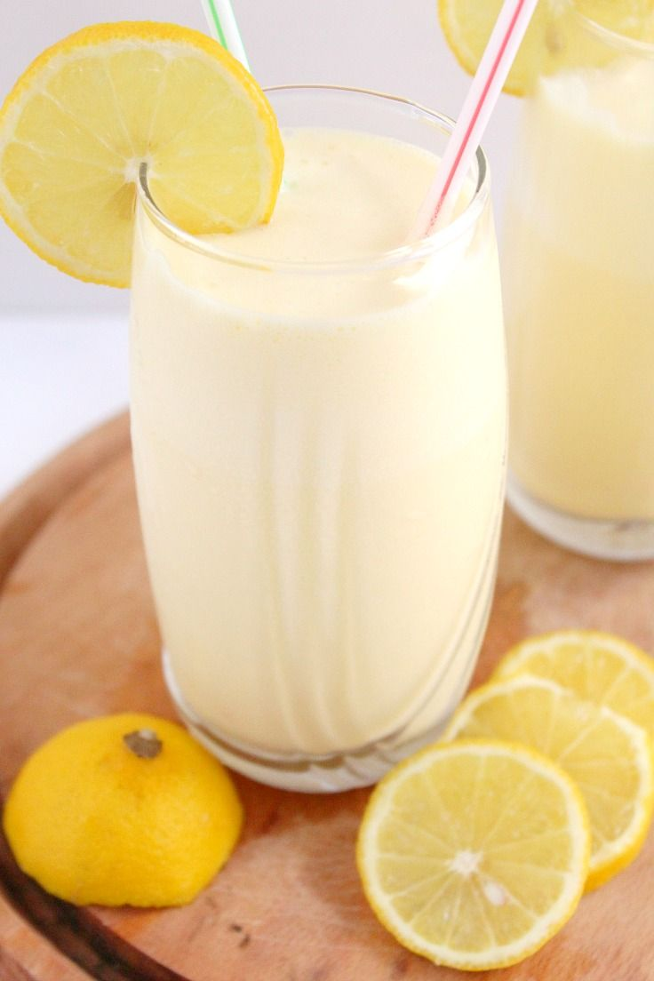 FROSTED LEMONADE RECIPE - On a hot summer day, it's pretty hard to beat a refreshing glass of frosted lemonade. With just a few ingredients, this delicious drink is ready in minutes!