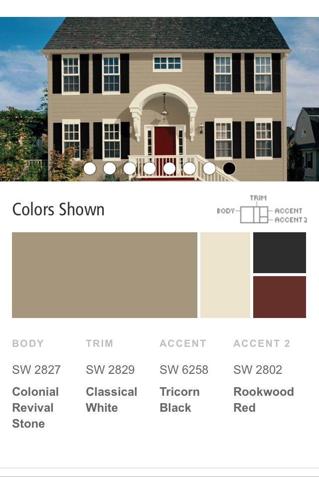 Magnificent 15 Must See Exterior Paint Colors Pins Exterior House Colors Largest Home Design Picture Inspirations Pitcheantrous